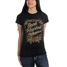 Waylon Jennings - Womens Good Hearted Woman Juniors T-Shirt