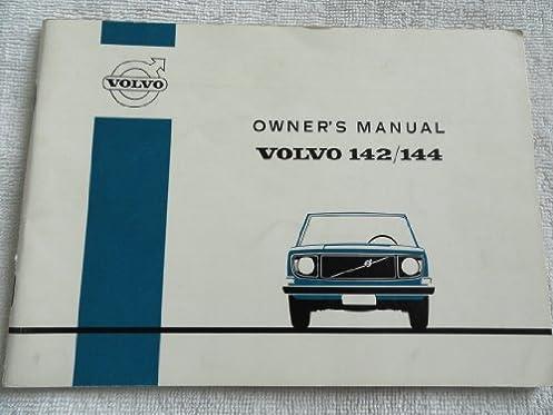 1971 1972 volvo 142 144 owners manual amazon com books rh amazon com Volvo 140 Volvo 142