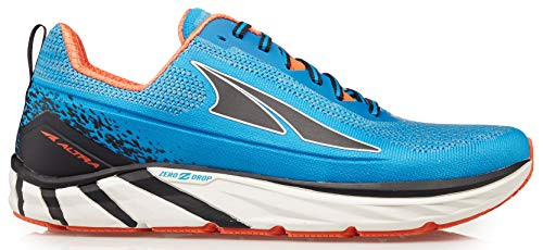 Altra Men's Torin 4 Plush Road Running Shoe, Blue/Orange - 10.5 M US