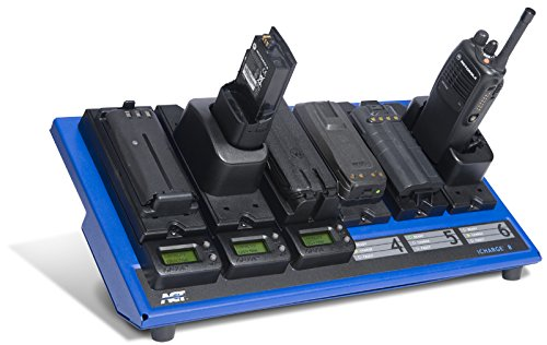 Waveband 6-Unit Conditioning Charger for Harris Ma/Com Batteries. WB# P5400-XGSR-N