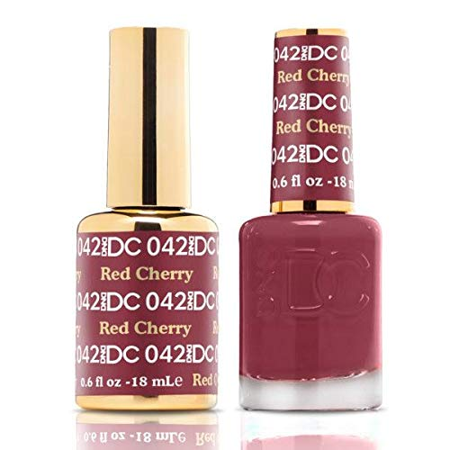 DND DC Duo Gel + Polish - 042 Red Cherry