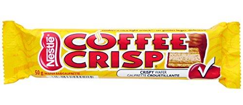(Nestles Coffee Crisp Original Flavor Canadian Candy)