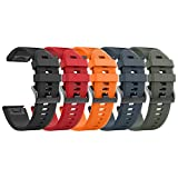 ANCOOL Compatible Fenix 5X Bands Easy Fit 26mm Soft Silicone Replacement Watch Bands for Garmin Fenix 3HR/Fenix 5X/Fenix 3 Smartwatch