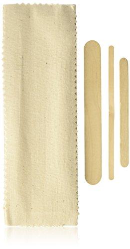 Gigi Natural Muslin and Spatula - Epilating Natural Strips Muslin