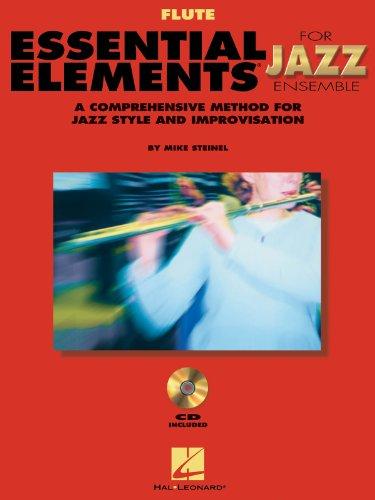 Essential Elements for Jazz Ensemble - Flute - BK+CD
