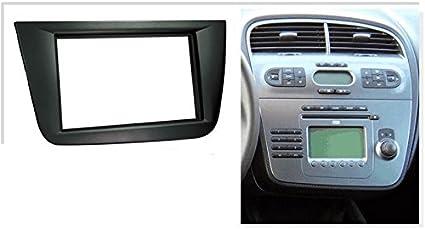 Sound-Way KA11-609 Kit de Montaje Marco para Radio Pantalla 2 DIN Compatible con Seat Leon 2005-2012