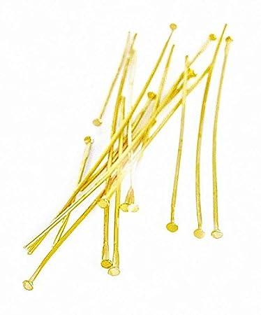 Stifte für Zauberperle gold 50 Stück 30 mm