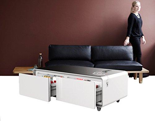 Primst Refrigerator Coffee Table Elegant White Tec Ofertas