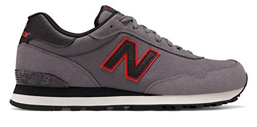 New Balance Men's 515v1 Sneaker, Castlerock/Black, 7 M US