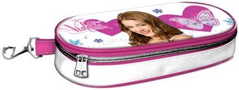Estuche portatodo Violetta Hearts: Amazon.es: Amazon.es