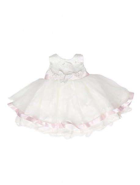 Girls Butterfly Dress Baby Girls Ivory Dresses Girls Christening Dresses