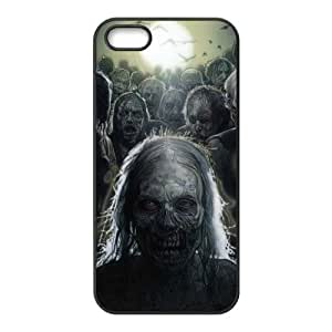 The Walking Dead Diy Case for iPhone 5,5S ,Customized Hard case Fashion Style MK853746