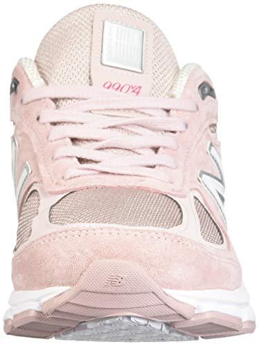 New Balance Men's 990v4 Running Shoe, Faded Rose/Komen Pink, 7 D US by New Balance (Image #4)