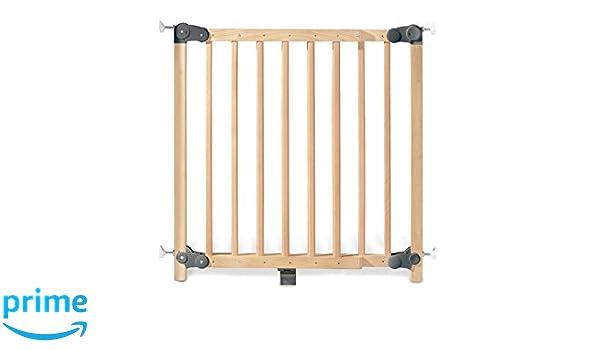 Pinolino - Puerta de seguridad para escaleras (madera) marrón naturaleza: PINOLINO: Amazon.es: Bebé