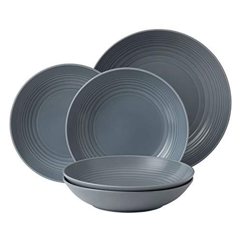 Royal Doulton Gordon Ramsay Maze 5-Piece Pasta Set, Grey