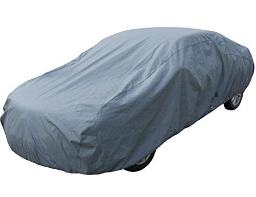 Leader Accessories 5 Layer Car Cover Xtreme Guard Waterproof Breathable Outdoor Indoor Sedan Cover Up To 200″