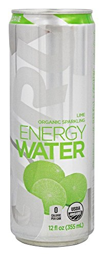 Guru Water Sparkle Energy Lime Organic, 12 oz by Guru
