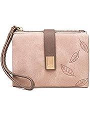 Carteras para mujer de embrague grande cartera de teléfono de señoras niñas lindo largo delgado plegable suave bolso único de cuero original regalo