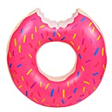 Bleiou 120cm Gigantic Donut Pool Inflatable Floats Summer Water Pool Toys Swimming Ring for Adult