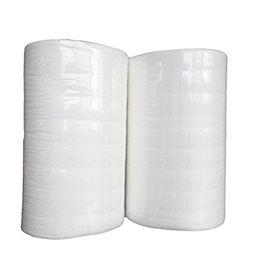 Babygoal 200 Sheets Baby Bamboo Biodegradable Flushable Diaper Liners for Cloth Diaper Nappy 2 Pack 2BBT01