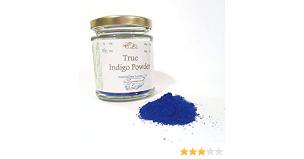True Natural Blue Indigo Powder Ingrediente Cosmético 25g