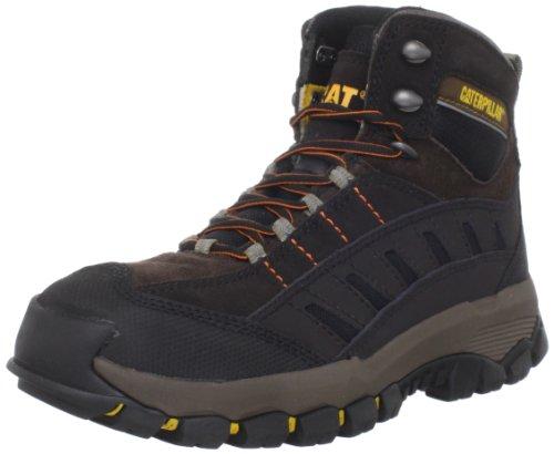 Caterpillar Men's Sensor Hi Walking Shoe,Chocolate/Blackout,9.5 M US