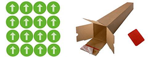 Pegatina suelo Flecha Antideslizante para Indicaci/ón recorrido seguridad-Consulta Colores disponibles Pack 16 ud Medidas Circulo 25 cm