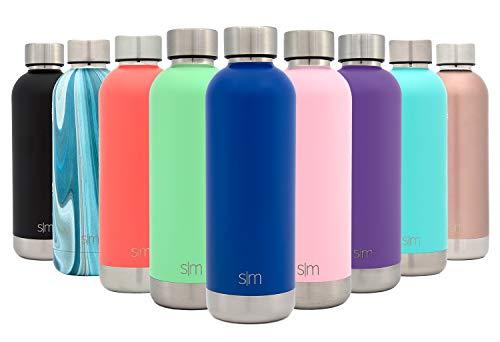Simple Modern 17oz Bolt Sports Water Bottle - Stainless Steel - Double Wall Vacuum Insulated - Leak Proof Bottle -Twilight