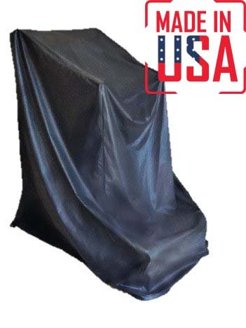 The Best Tread Climber Protective Cover. Heavy Duty UV/Mold/Mildew/Water Resistant Fitness Equipment Covers Ideal for Indoor or Outdoor Use. Made in USA with 3-Year Warranty. (Black, Medium)