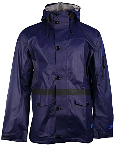 Nike Men's New Master Saturday Soccer Jacket-Navy-Medium (Nike Raincoat Jackets)