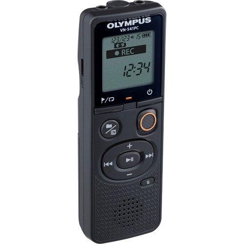 CS 131 Dict/áfono , 46 h, WMA, 5-32 Kbit//s, 1570 h LP Olympus VN-541PC 60 h, Larga duraci/ón