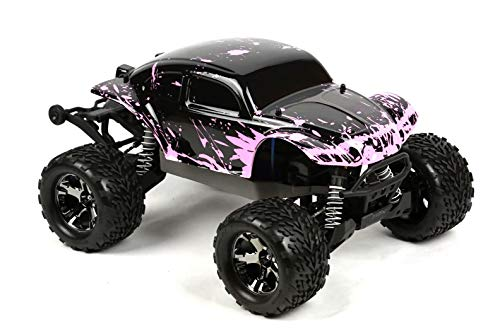 (SummitLink Compatible Custom Body Muddy Pink Over Black Replacement for 1/10 Scale RC Car or Truck (Truck not Included) STB-BP-01 )