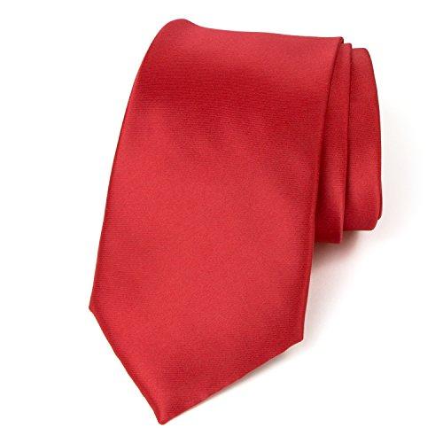(Spring Notion Men's Solid Color Satin Microfiber Tie, Regular True)