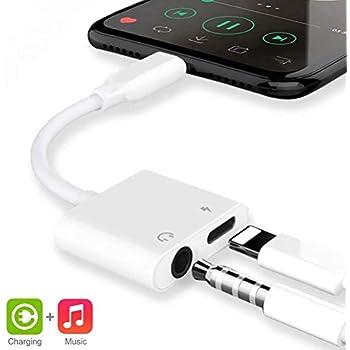Amazon.com: Headphone Jack Adapter Dongle for iPhone 8/8Plus ...