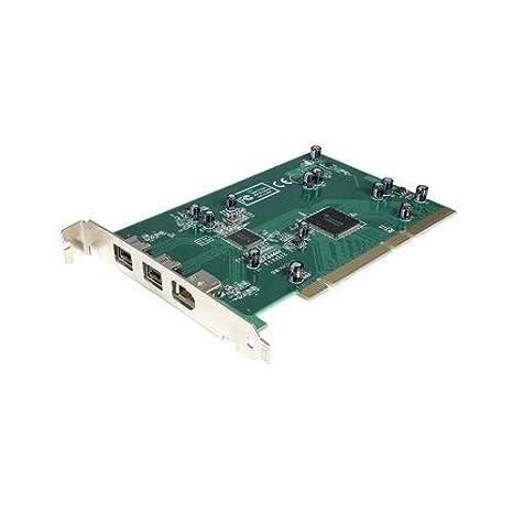Startech - Tarjeta PCI (3 Puertos FireWire 800 IEEE 1394b I ...