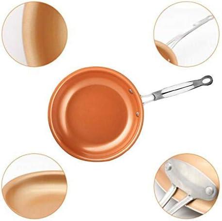 NBVCX Ustensiles de Cuisine poêle antiadhésive 30 cm Nouvelle poêle à Frire antiadhésive en Aluminium ustensiles de Cuisine anodisé Dur Omelette pour Cuisine