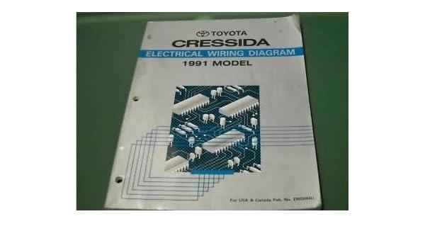 1991 toyota cressida electrical wiring diagram service shop manual ewd oem  91: toyota: amazon com: books