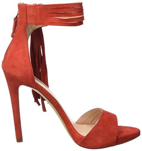 y Tacon Rosso para Zapatos Rojo Guess con Mujer Tira Vertical Sue03 6SOTwqxnI