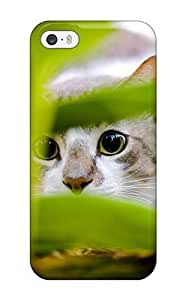 BBXByzZ5080QFlem Case Cover, Fashionable Iphone 5/5s Case - Cat Hiding