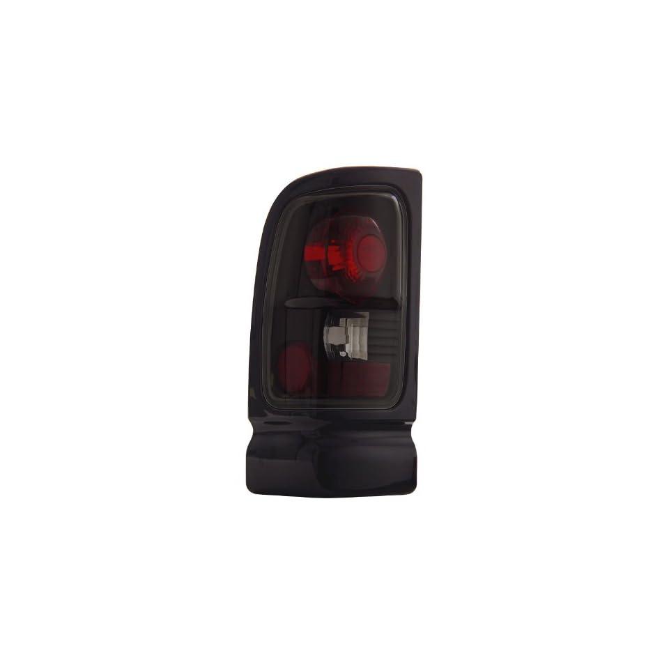 94 01 Dodge Ram Smoke Tail Lights + LED 3RD Brake Light