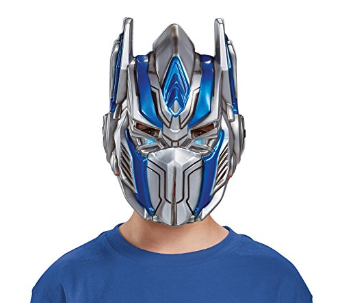 Prime Cover Optimus - Disguise Optimus Prime Movie Child Mask, One Size