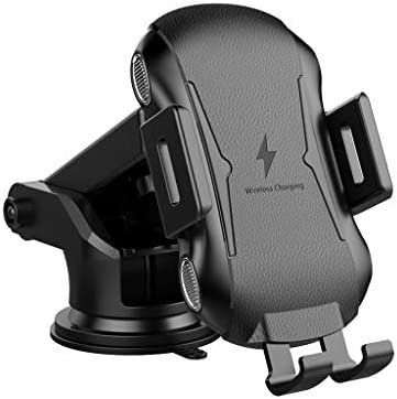 Gowersdee Suction Cup Mount Car Automatic Clamping Wireless Charging Holder Wireless Car Charger Automatic Sensor Car Phone Holder – The Super Cheap