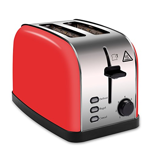 bagel toaster red - 5