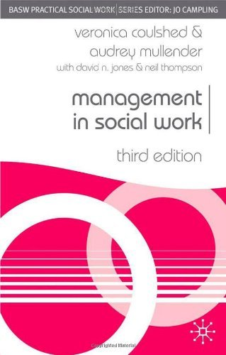 Management in Social Work (Practical Social Work Series)