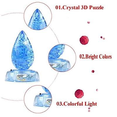 DIY Water Drop 3d Crystal Jigsaw Puzzle / 1pcs: Beauty