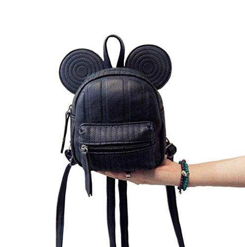 ModaKeusu Casual Purse Fashion Mikey School Leather Backpack Shoulder Bag Mini Backpack for Women & Girls by ModaKeusu (Image #1)