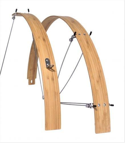 Bambus Schutzbleche 700c, 50 mm flach