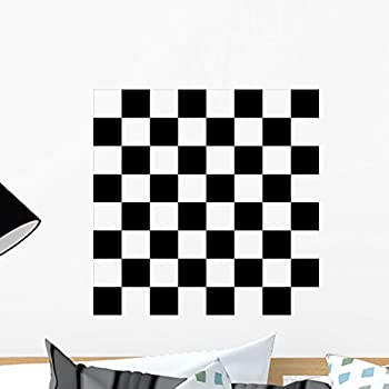 Amazon.com: Checkerboard Game Wall Stencil SKU #3235 by Designer ...