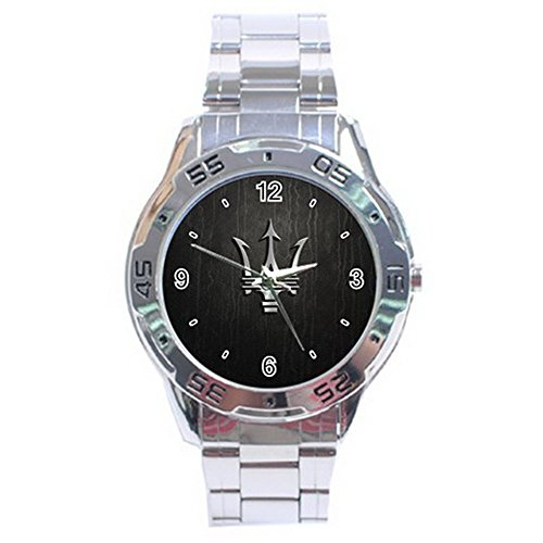 Maserati Logo Stainless Steel Analogue Men Watch Special Edition