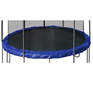 15' Round Trampoline Pad Color: Blue